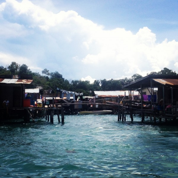 En Route to Gaya Island Resort