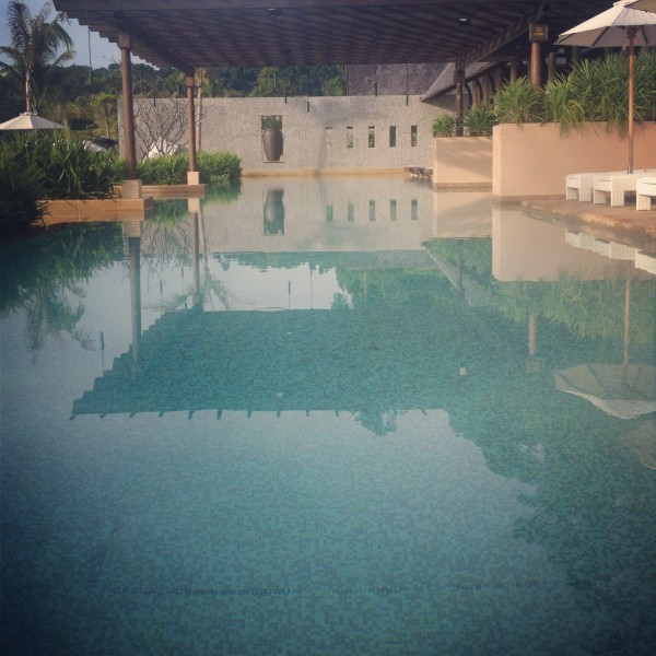 The Pool at Gaya Island Resort 2