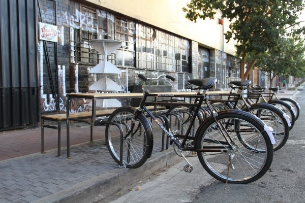 Its inner-city {Maboneng Precinct}
