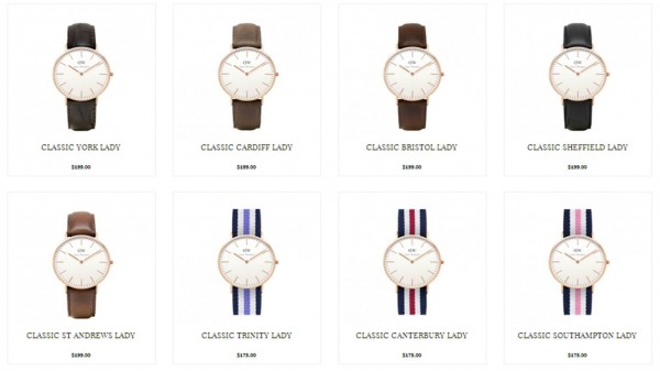 Daniel Wellington Watches 1