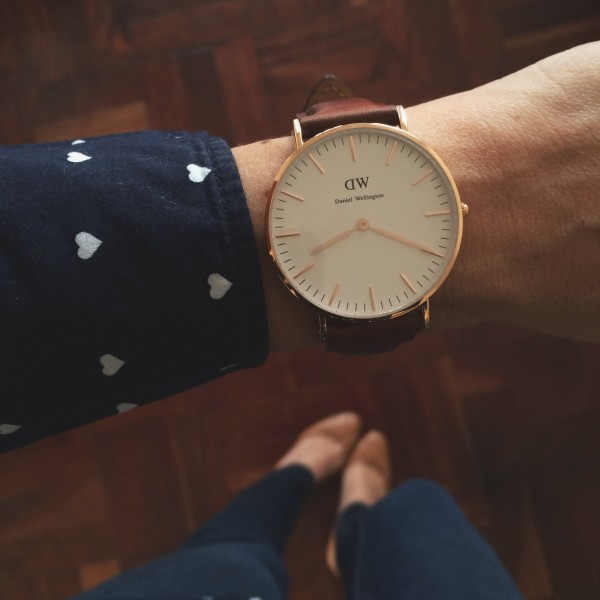 Daniel Wellington Classic St Andrews Lady in Rose Gold