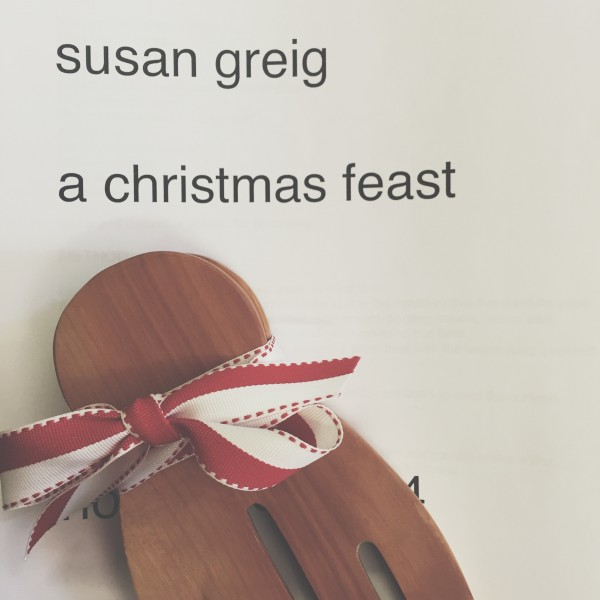 Cooking a festive feast with Susan Greig