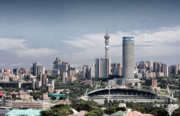 Johannesburg Skyline via