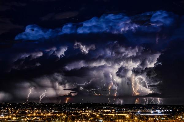 Electric Storm via Alexius van der Westhuizen