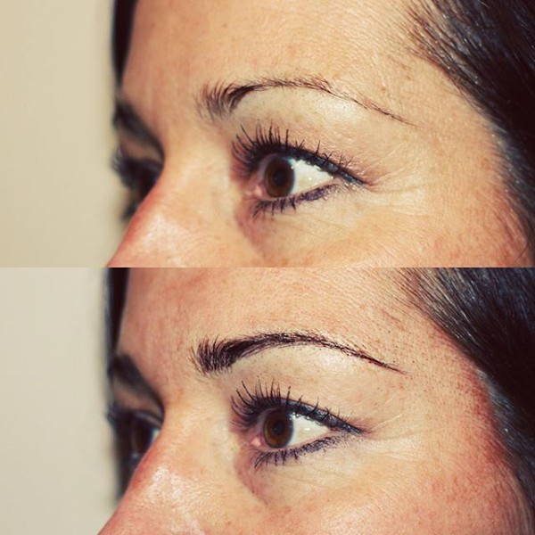 The Browery | Before & After Micropblading Technique