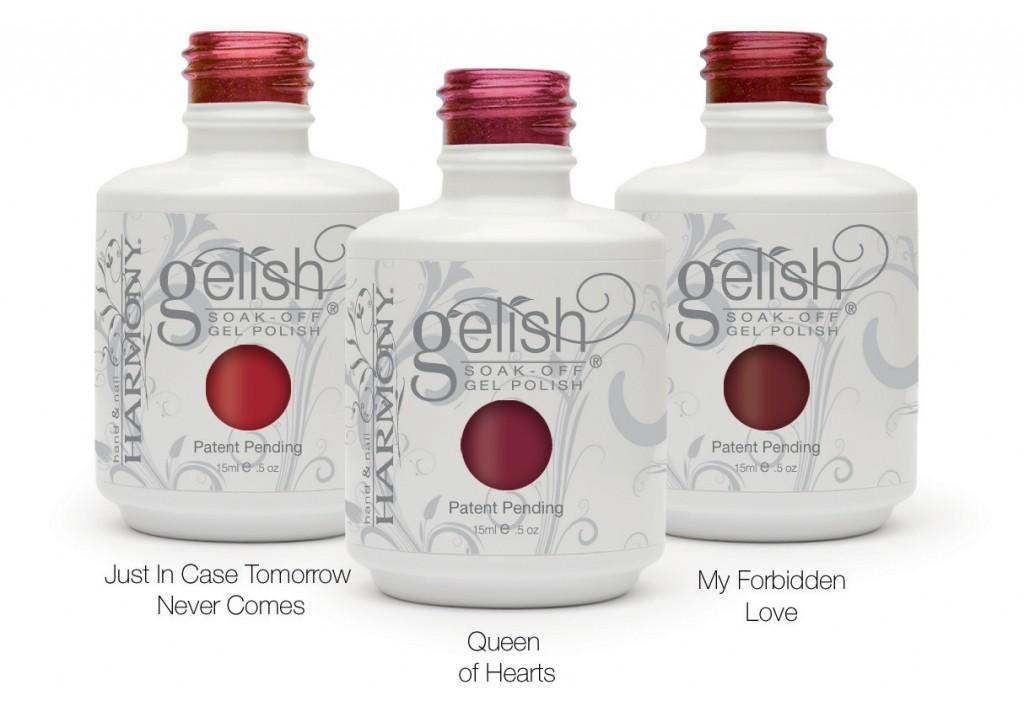 Gelish Winter Reds Bottles