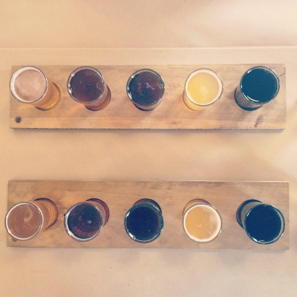 Craft beer tasting in Darling