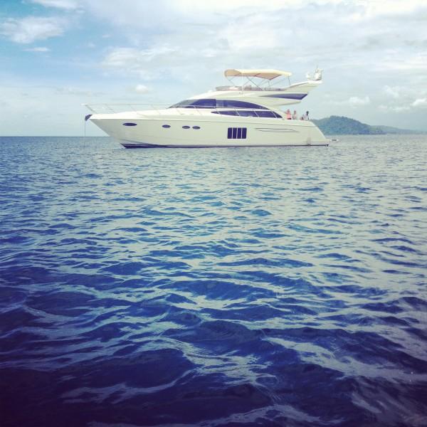 Private Yacht in Borneo