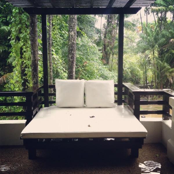 The Day-Bed at Gaya Island Resort