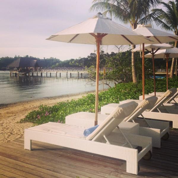 The Beach at Gaya Island Resort