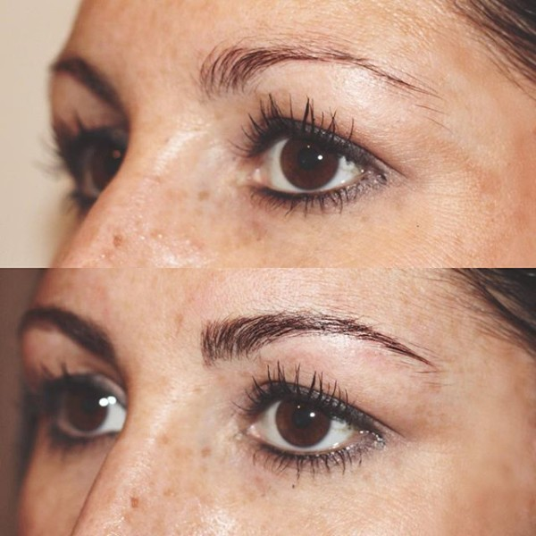 The Browery   Before & After Micropblading Technique